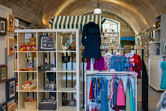 The Vaults Art Centre, Bradford on Avon, Wiltshire, UK (rmk2112rmk) Tags: thevaultsartcentre bradfordonavon wiltshire uk madeinbradfordonavon shop crafts handmade goods store dof architecture vault thevaults