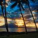 Sun going down over Lanai