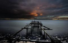 Broken (mcalma68) Tags: broken jetty landing seascape lake edam markermeer sunrise