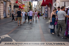 Sarajevo - Ulica Ferhadija (Añelo de la Krotsche) Tags: sarajevo ulicaferhadija bosnaihercegovina bosnieherzégovine