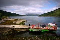 Glenachulish Ferry, Kylerhea, Isle of Skye (plot19) Tags: isle sky plot19 photography scotland sony rx100 scotish scene ferry dog landscape britain british uk boat