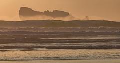 Sunset on the Lion's Rock (khan.Nirrep.Photo) Tags: tamronsp150600mmf563divcusd canon6d canon ciel couché seascape sky sea sunset sable soleil rocks rochers mer water waves finistère bretagne breizh beach plage presquile peninsula flickrunitedaward