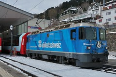Disentis/Mustér - Glacier Express