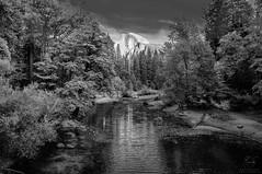 Half Dome (Ruedi Staehli) Tags: berg berge fluss hdr halfdome landschaft yosemite yosemitevalley california unitedstates us river landscape
