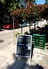 bravo! and happy hour (citizensunshine) Tags: ελλάδα αιγαίο greece aegean aegeansea ναύπλιο πελοπόννησοσ nafplio nauplio nauplion nauplia sign sandwichboard blackboard chalkboard chalk bar tavern pub advertisement bravo kontrabasso happyhour nafplion