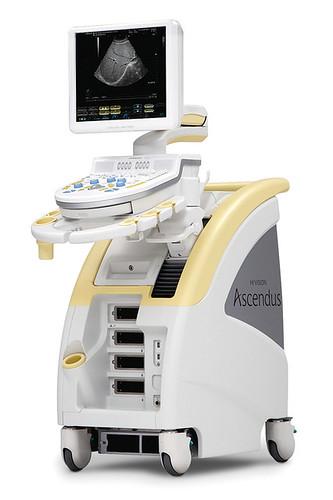 デジタル超音波診断装置 HI VISION Ascendusの写真