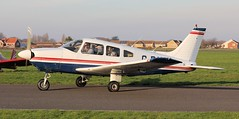 Piper PA-28-181 Cherokee Archer II G-BIUY Lee on Solent Airfield 2019 (SupaSmokey) Tags: 2019 piper pa28181 cherokee archer ii gbiuy lee solent airfield