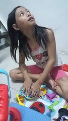 playing with clay (ghostgirl_Annver) Tags: asia asian annver girl teen child kids family daughter sister clay playing