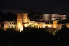 Alhambra by Night / Granada (jo.misere) Tags: alhambra spain spanje andalusie nachtopname nightshot granada