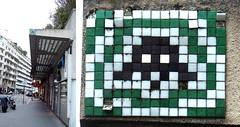 Space invader [Paris 16e] (biphop) Tags: europe france paris streetart space invader spaceinvader mur wall installation mosaic mosaique 75016 pa692