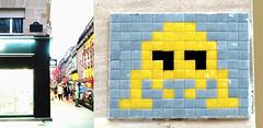 Space invader [Paris 14e] (biphop) Tags: europe france paris streetart space invader spaceinvader mur wall installation mosaic mosaique 75014 reactivation reactivated restauré réactivé restored pa494