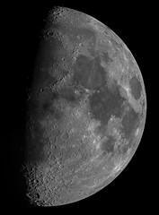 The Moon 13th Feb 2019 10pm (ukmjk) Tags: moon nikon d500 omc140 orion optics tc14e2 staffordshire stoke astro astronomy night eq6 registax pipp