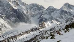 Snow Blown by Wind (California Will) Tags: germany deutschland bavaria mountains winter snow garmischpartenkirchen europe alps