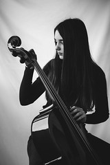 SadNiece(2)_Cello_3 (SadFo_x1) Tags: new people light portrait art blackandwhite bw black white musician girl classic violoncello cello