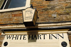White Hart Inn (zawtowers) Tags: hawes north yorkshire upper wensleydale dales england countryside rural market town famous cheese saturday 16th february 2019 dry sunny bright white hart inn old school historic black sheep beer signage sign