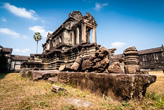 Angkor Wat temple (longtnguyen) Tags: cambodia travel temples ancient angkorwat siemreap landscape architecture khmer day