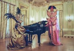 Indulge in Beauty. (Venice Carnival) (_Anathemus_) Tags: theatre la fenice venice opera house piano mask costume carnival carnevale italy italia music nikon d750 venezia portrait