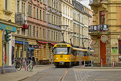 Tatra T4D-MT #224_261 DVB Dresden Drezno (3x105Na) Tags: tatra t4dmt 224261 dvb dresden drezno deutchland germany niemcy sachsen saksonia strassenbahn strasenbahn tram tramwaj fusball e13
