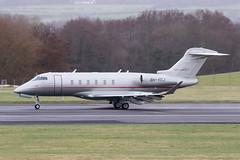 9H-VCJ Cl350 Vista Jet Malta Prestwick 04.03.19 (Robert Banks 1) Tags: 9hvcj bombardier challenger cl350 cl35 vista jet malta prestwick egpk pik