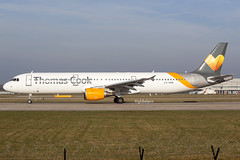 LY-VED (globalpics images) Tags: lyved airbus airbusa321 thomascookairlines runway jet airliner takeoff av8 avgeek aviation