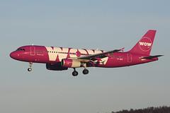 TF-BRO Airbus A320-232 EGPH 07-01-18 (MarkP51) Tags: tfbro airbus a320232 a320 wowair ww wow edinburgh airport edi egph scotland aviation airliner aircraft airplane plane image markp51 nikon d7200 sunshine sunny planeporn