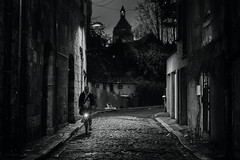 The oldest street of Orléans (Pierre Pichot) Tags: black white street streets streetphotography blackandwhite blackwhite loiret orleans france shadows light contrast monochrome canon 6d pierrepichot city urban outdoor orléans fra