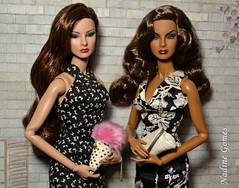 The Sisters (Nadine Gomes 2019) Tags: fashion royalty boudoir vamp agnes von weiss wclub integrity toys doll 2018 fr2 nu face giselle diefendorf energetic presence