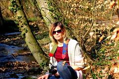 (sassenka) Tags: portrait nature woman girl sun light canon 600d
