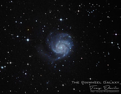 Pinwheel Galaxy (treydavisonline) Tags: nikon d750 astrophotography zenithstar 61 z61 astro galaxy nebula nebulae stars space deep sky photography dso ioptron william optics williamoptics apo apochromatic telescope dslr pinwheel messier 101 m101