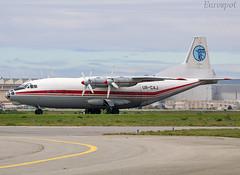 UR-CAJ Antonov 12 Ukraine Air Alliance (@Eurospot) Tags: urcaj antonov an12 toulouse blagnac ukraineairalliance