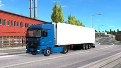 ets2_20190109_231545_00 (Kocaa_009) Tags: road sky truck bluetec5 mercedes mercedesbenz actros mbactros mercedesactros mp2 actrosmp2 actros1848 tree city szczecin truckstore schmitz schmitzcargobull schmitztrailers