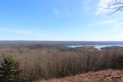 The northern reaches of Quabbin Reservoir from New Salem Center (Stephen St-Denis) Tags: quabbin reservoir