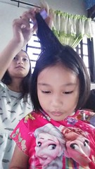 styling my friend Sasha (ghostgirl_Annver) Tags: asia asian girls teens kids children friends sister daughter family portrait style hair