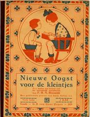 sijtje  Aafjes  Nieuwe oogst voor de kleintjes 1925, cover (janwillemsen) Tags: sijtjaafjes bookillustration 1925 schoolbook childrensbook