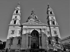 St. Stephen's Basilica (Normann) Tags: hungary budapest basilica church blackandwhite