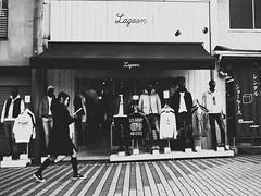 Street shot! (takana1964) Tags: streetphotography snap streetsnap street snapshot streetshot citysnap citystreet city cityphotography blackandwhite bw bnw monochrome kyotocity japan olympus
