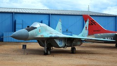 Mikoyan-Gurevich MiG-29 (9-13) in Tucson (J.Comstedt) Tags: aircraft flight aviation air aeroplane museum airplane us usa planes pima space tucson az johnny comstedt mikoyan gurevich mig29 ussia force