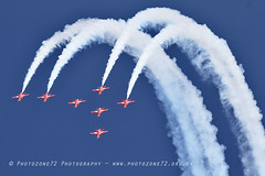 0015 7 ship loop R1 R2 R3 R5 R6 R7 R9 (photozone72) Tags: raf rafat redarrows reds redwhiteblue aviation aircraft jets hawk canon canon100400f4556lii canon7dmk2 7dmk2 scampton lincolnshire