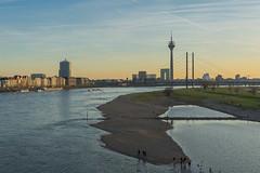 Düsseldorf - Der Rhein (Ventura Carmona) Tags: alemania germany deutschland nrw rheinland düsseldorf rhein rin rhine panorama venturacarmona