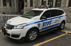 NYPD Citywide Traffic Task Force Chevy Traverse (NY's Finest Photography) Tags: highway patrol state nypd fdny ems police law enforcement ford dodge swat esu srg crc ctb rescue truck nyc new york mack tbta chevy impala ppv tahoe mounted unit service squad dcu windshield road