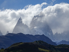I'm the mountain (lvalgaerts) Tags: el chaltén fitz roy mount chalten mountain andes fog clouds cerro torre argentina chile south america