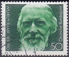 Deutsche Briefmarken (micky the pixel) Tags: briefmarke stamp ephemera deutschland bundespost wilhelmraabe schriftsteller novelist