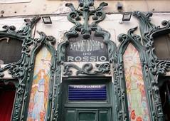 Lisbon, Portugal (LuciaB) Tags: lisbon portugal movietheater animatografodorossio artnouveau