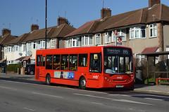 Abellio London 8520 (YX59BYN) on Route 195 (hassaanhc) Tags: abellio abelliolondon abelliogroup alexander dennis adl enviro enviro200 e200