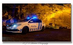 Police Car (P.J.V Martins Photography) Tags: night nighttime landscape police polícia car carro vehicle cascais portugal