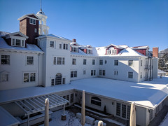 The Stanley Hotel - Estes Park, Colorado (BeerAndLoathing) Tags: pixelxl cold usa googlepixel november google stanleyhotel devotchka cellphone estespark outdoors 2018 android fall pixel snow colorado unitedstatesofamerica us