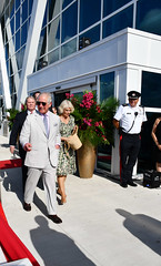 HRHs2PlaqEJED (Cayman Islands Government Information Services) Tags: cayman royal visit charles prince wales camilla duchess cornwall owen roberts international airport united kingdom great britain