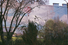 (mihxiii 2.0) Tags: air balloon budapest hungary street wall art landscape