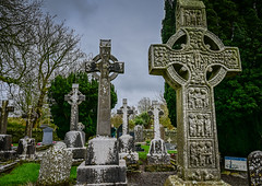 Muiredach's High Cross of Mainistir Bhuithe Monasterboice - Monastery of Buithe - County Louth Ireland (mbell1975) Tags: drogheda countylouth ireland ie muiredachs high cross mainistir bhuithe monasterboice monastery buithe county louth éire eire airlann poblacht na héireann irland irlanda irlande irish klosterruine labbaye de abbey cloister ruin ruins ancient monument national crosses cemetery tombs graveyard graves grave celtic