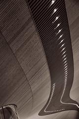 The Helsinki Central Library (1) (pni) Tags: monochrome building architecture detail oodi ode helsinginkeskustakirjasto centrumbiblioteket helsinkicentrallibrary library helsinki helsingfors finland suomi pekkanikrus skrubu pni lamp